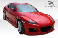 2004-2011 Mazda RX-8 Polyurethane M-1 Style Sideskirts