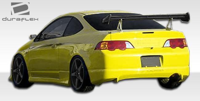 Furious Customs Acura RSX Duraflex JSpec Body Kit - 2005 acura rsx body kit