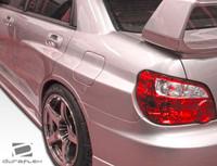 2006-2007 Subaru Impreza WRX STI 4DR Duraflex GT500 Wide Body Rear Fender Flares - 3 Pieces