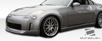 2006-2008 Nissan 350Z Wings Style Polyurethane Body Kit - 4 Pieces