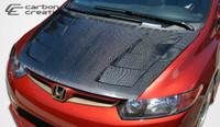 2006-2011 Honda Civic 2DR Carbon Creations Carbon Fiber Hot Wheels Hood -