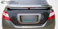 2006-2011 Honda Civic 2DR Carbon Creations Carbon Fiber OEM Trunk -