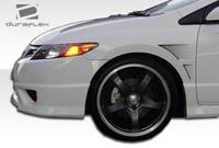 2006-2011 Honda Civic 2DR Duraflex GT Concept Fenders - 2 Pieces