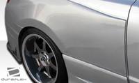 2006-2011 Honda Civic 2DR Duraflex GT500 Wide Body Rear Fender Flares - 2 Pieces