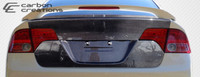 2006-2011 Honda Civic 4DR Carbon Creations Carbon Fiber OEM Trunk -