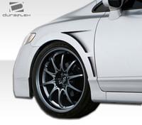2006-2011 Honda Civic 4DR Duraflex GT Concept Fenders - 2 Pieces