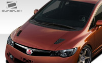 2006-2011 Honda Civic 4DR Duraflex JDM R-Spec Conversion Hood