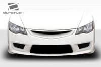 2006-2011 Honda Civic 4DR Duraflex JDM Type JS Type R Conversion Front Bumper Trim - 2 Pieces