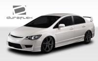 2006-2011 Honda Civic 4DR Duraflex JDM Type R Front End Conversion Kit - 5 Pieces