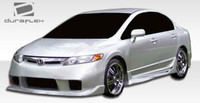 2006-2011 Honda Civic 4DR Duraflex Wings Style Body Kit - 4 Pieces