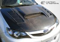 2008-2013 WRX STI Carbon Creations Carbon Fiber GT Concept Hood