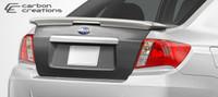 2008-2012 Subaru Impreza WRX STI 4DR Carbon Creations Carbon Fiber OEM Trunk -