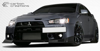 2008-2013 Mitsubishi Evolution X Carbon Creations Carbon Fiber RS Body Kit - 6 Pieces