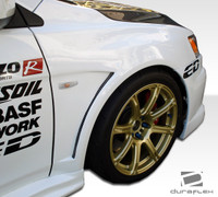 2008-2013 Mitsubishi Evolution X Duraflex GT Concept Fenders - 2 Pieces