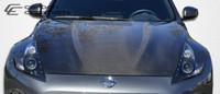 2009-2013 Nissan 370Z Carbon Creations Carbon Fiber OEM Hood -