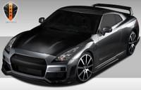 2009-2013 Nissan GTR R35 Eros Version 1 Body Kit - 4 Pieces