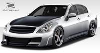 2010-2013 Infiniti G Sedan G25 35 37 Duraflex Elite Body Kit - 4 Pieces