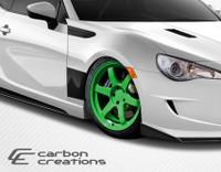 2013-2014 Scion FR-S / Subaru BRZ Carbon Creations Carbon Fiber GT Concept Fenders
