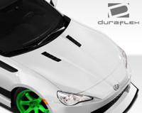 2013-2014 Scion FR-S / Subaru BRZ Duraflex GT Concept Hood