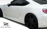 2013-2014 Scion FR-S / Subaru BRZ Duraflex X-5 Style Sideskirts