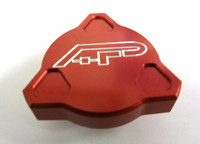 Agency Power Replacement Oil Cap RED - WRX  2.0L/2.5L