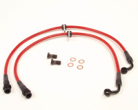 Agency Power Steel Braided Brake Lines Front - Acura RSX