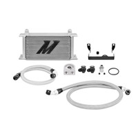 Full Kit Contents (Silver) - Mishimoto Oil Cooler - Subaru WRX / STI
