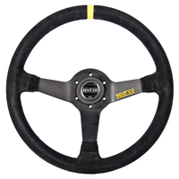 Sparco R345 Steering Wheel in Suede