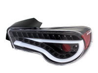 Spyder LED Tail Lights (Black) - Scion FR-S / Subaru BRZ