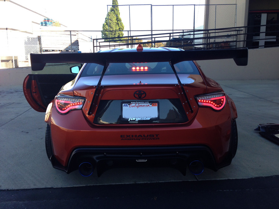 Spyder Led Tail Lights Jdm Red Scion Fr S Subaru Brz