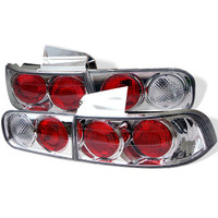 Acura Integra 94-01 4Dr Euro Style Tail Lights - Chrome