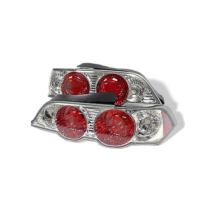 Acura Rsx 02 04 Euro Style Tail Lights Chrome