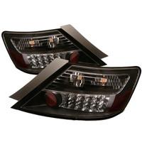 Honda Civic 06-08 2Dr LED Tail Lights - Black