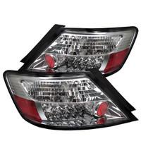 Honda Civic 06-08 2Dr LED Tail Lights - Chrome