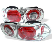 Honda Civic 92-95 2/4DR Euro Style Tail Lights - Chrome