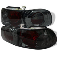 Spyder Honda Civic 92-95 3DR Euro Style Tail Lights - Smoke