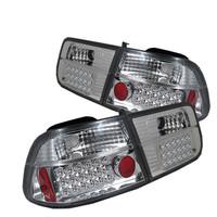 Honda Civic 96-00 2Dr LED Tail Lights - Chrome