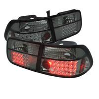 Honda Civic 96-00 2Dr LED Tail Lights - Smoke