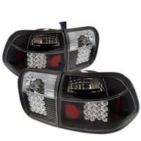 Honda Civic 96-98 4Dr LED Tail Lights - Black