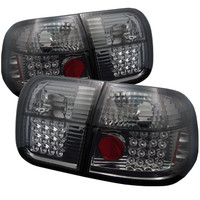 Spyder Honda Civic 96-98 4Dr LED Tail Lights - Smoke