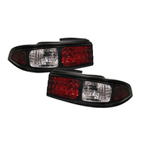 Nissan 240SX 95-98 LED Tail Lights - Black