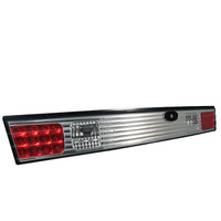 Nissan 240SX 95-96 LED Trunk Tail Lights - Chrome