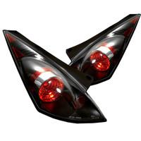 Nissan 350Z 03-05 Euro Style Tail Lights - Black