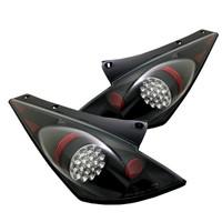 Nissan 350Z 03-05 LED Tail Lights - Black