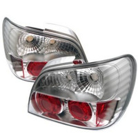 Subaru Impreza WRX / Sti 02-03 4Dr (Not Fit Wagon) Euro Style Tail Lights - Chrome