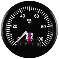 Stack Pro-Control Oil Pressure Gauge - 0-100 psi - 52mm