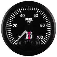 Stack Pro-Control Fuel Pressure Gauge - 0-100 Psi - 52mm
