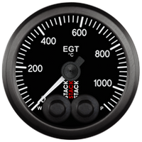 Stack Pro-Control Exhaust Gas Temp Gauge - 0-1100 Degree C - 52mm