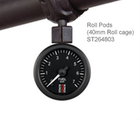 Stack Roll-Cage Mount Kit for 52mm Gauge
