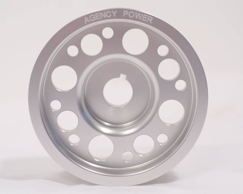 Furious Customs | Agency Power Lightweight crank pulley
